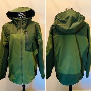 REI Waterproof Jacket Green